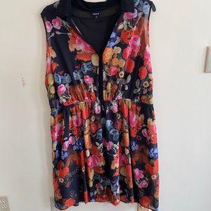 Plus size torrid floral dress